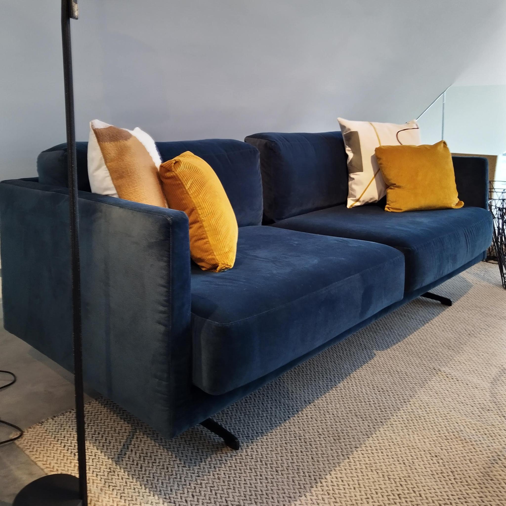Fest Amsterdam Miller sofa - Velvet Petrol