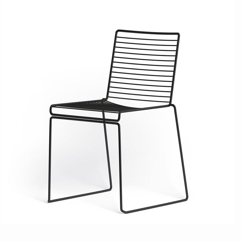 HAY HAY HEE Dining Chair - zwart