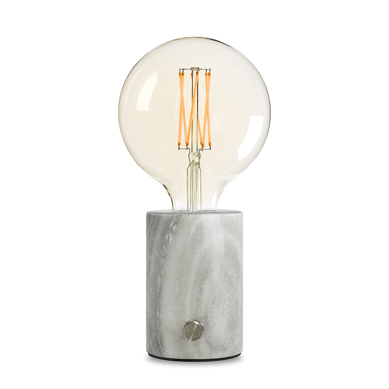 Edgar Edgar Orbis tafellamp - marmer grijs