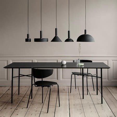 Fermliving ferm LIVING  pendant high record  shade black/dark green