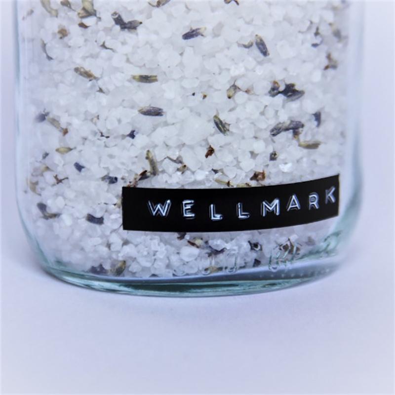Wellmark Badzout in glazen pot