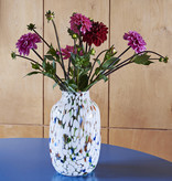 HAY Splash Vase Round L - White dot