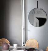 Moebe Miroir murale noir