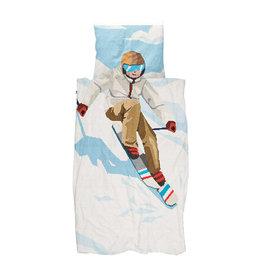 SNURK beddengoed Housse de couette Ski boy 1p