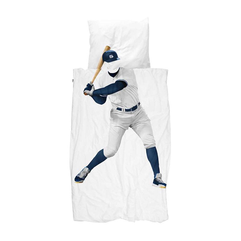 SNURK beddengoed Baseball player dekbedovertrek