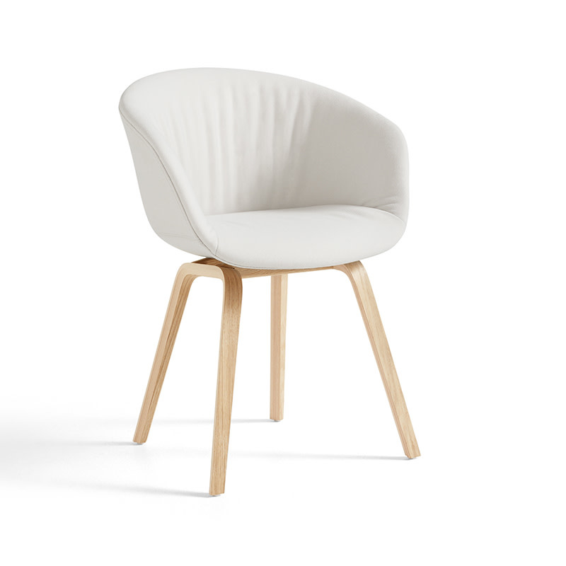 HAY About A Chair AAC 23 SOFT  - natural lacquered oak frame