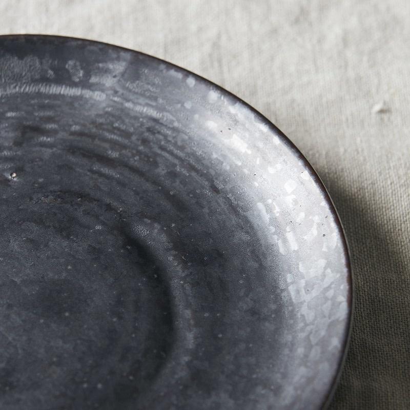 House Doctor Dessertbord Pion zwart-bruin