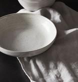 House Doctor Bowl / Diep bord Pion grijs-wit