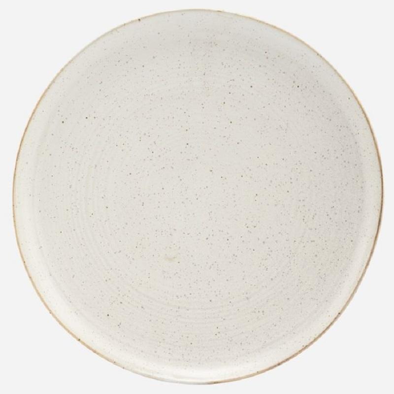 House Doctor Assiette Pion (dia 28.5) Medium gris-blanc