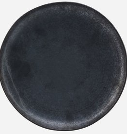 House Doctor Assiette Pion (dia 28.5) Medium brun-noir