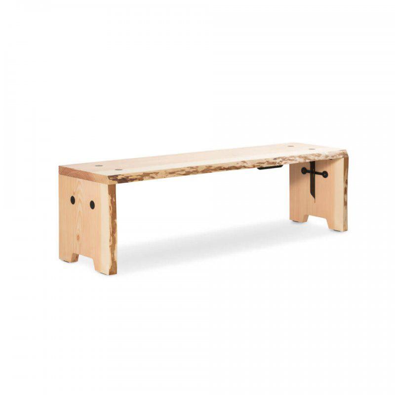 Weltevree Forestry Bench - Raw (4p.)