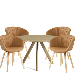 HAY SET 1 DINING CAMPAIGN 2020 - CPH20 Ø120 + AAC23 soft