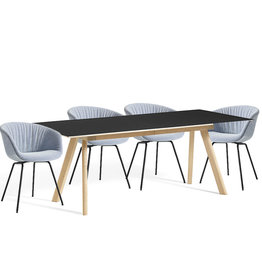 HAY SET 4 DINING CAMPAIGN 2020 - CPH30 ext (200/400cm)  + AAC27 soft