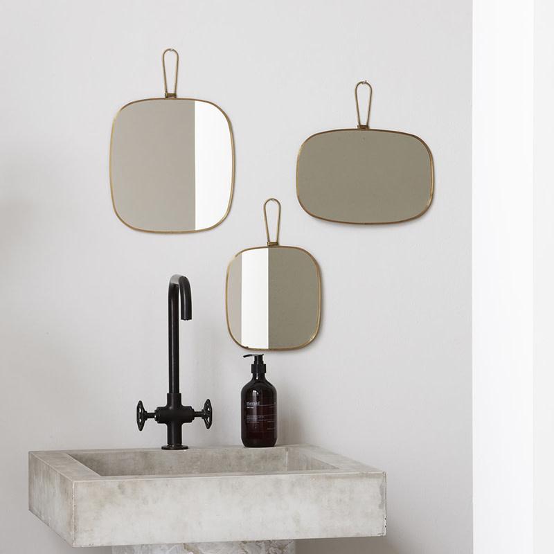 Meraki Spiegel Antique Brass