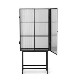 Fermliving Haze vitrine - Reeded glass