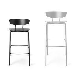 Fermliving Herman Bar Chair Black - LOW