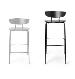 Fermliving Herman Bar Chair Black - HIGH