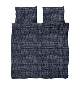 SNURK beddengoed Twirre dekbedovertrek Charcoal Black 2p