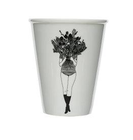 helen b Beker Print - Flowergirl