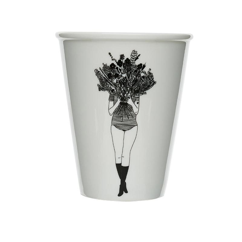 helen b Tasse imprimée - Flowergirl