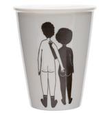 helen b Beker Print - White man & Black woman