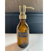 Wellmark Handgel 250ml Messing 'Be Wise Sanitize'