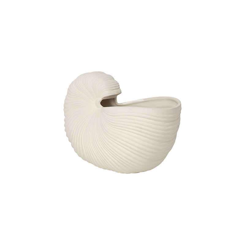 Fermliving Shell Pot - Off White