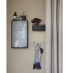 Fermliving Haze wall cabinet - Wired glass
