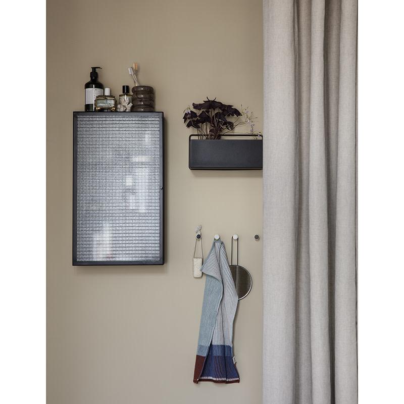 Fermliving Haze wandkast - draadglas