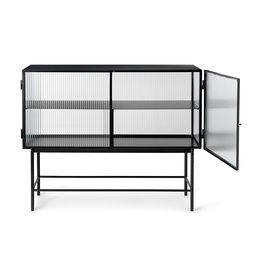 Fermliving Haze sideboard - reeded glass