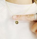 Studio Peloeze Halsketting - Medaillon Tiny heart