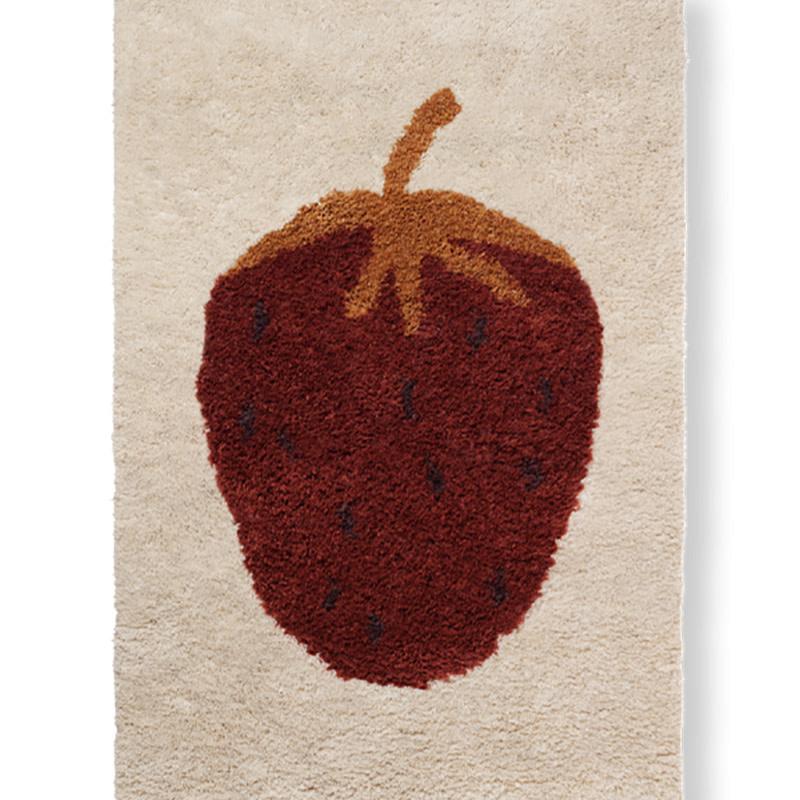 Fermliving Fruiticana Tapijt - Aardbei