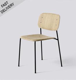 HAY Soft edge 10 FAST TRACK cadre noir avec assise en chêne matte - HAY