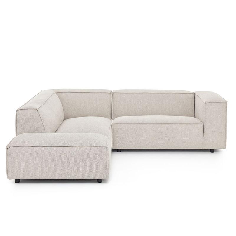 Fest Amsterdam Dunbar Sofa 1.5 seat arm R + longchair arm L - Polvere beige