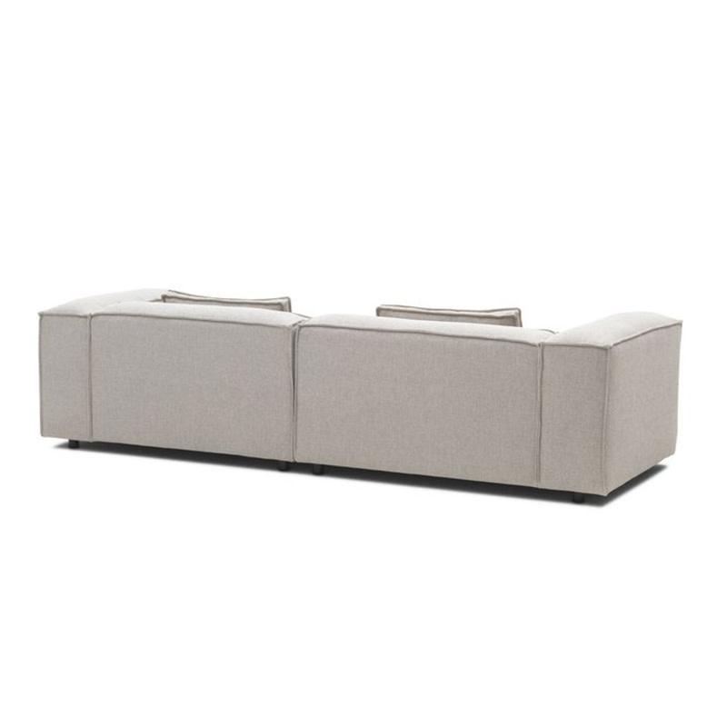 Fest Amsterdam Dunbar sofa 1.5-zits arm L + divan arm R / Polvere - 21 beige