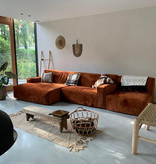 Fest Amsterdam Clay sofa - 1seat no arm + longchair L arm left + 1.5seat arm right - Juke Copper