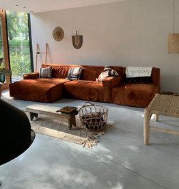 Fest Amsterdam Clay sofa avec longchair large - Juke Copper