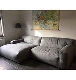 Fest Amsterdam Clay sofa -  longchair L arm left + 1.5seat arm right - Sydney 91 light grey