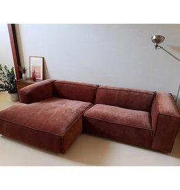 Fest Amsterdam Dunbar sofa - divan + 1.5seat - Royal magnolia