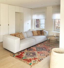 Fest Amsterdam Dunbar sofa 3 places - Board 167 zinc