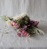 Other brands Droogboeket wildflowers 'Pink' - Medium