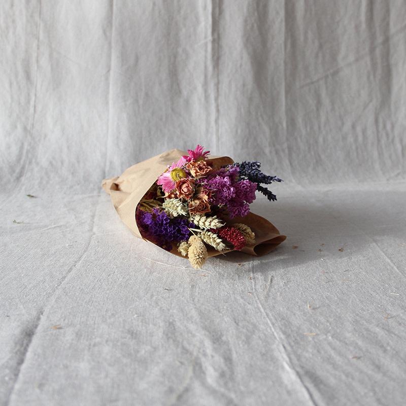 Noviflora Droogboeket wildflowers 'Pink' - Small