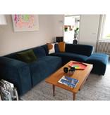 Fest Amsterdam Dunbar sofa 2 seat + longchair Royal 56 Petrol