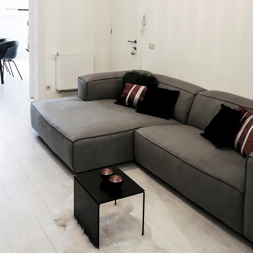 Fest Amsterdam Dunbar sofa 1.5-zits + divan - sydney 91 light grey