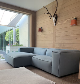 Fest Amsterdam Dunbar sofa 1.5 seat + divan - Board 51 light blue
