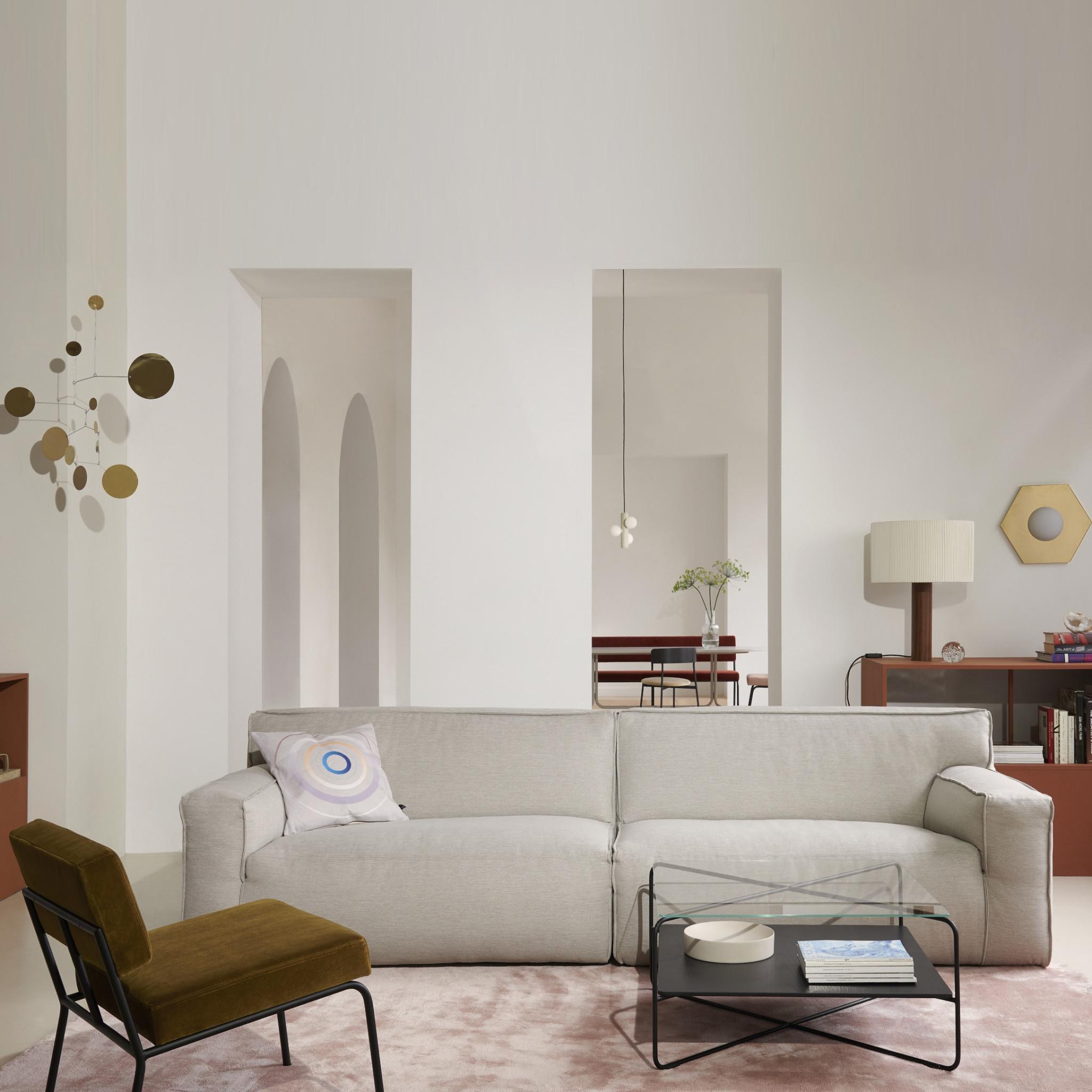 Fest Amsterdam Clay sofa 3-zits - sydney 22 beige