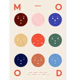 Paper Collective 9 Moods Poster 50x70
