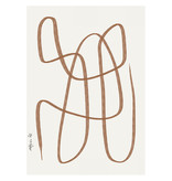 Paper Collective Different Ways Brown Poster 30x40