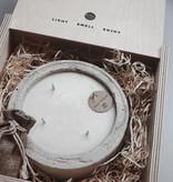 Mon Dada Urban Candle Grey S - Down to earth