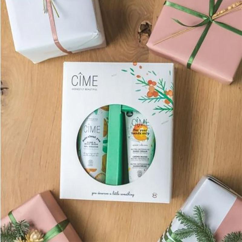 Cîme Boîte de Noël 2020 - Mains et lavage du corps